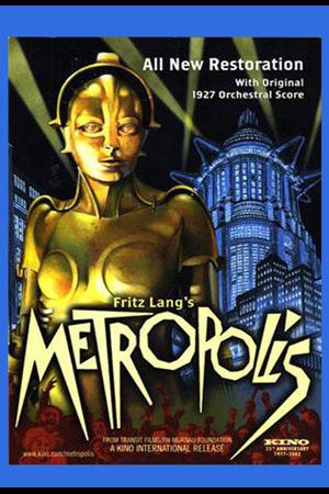 Kings Court Massage - Metropolis Fritz Lang Poster